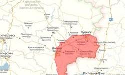Обновлённый список не подконтрольных Украине населённых пунктов Донбасса
